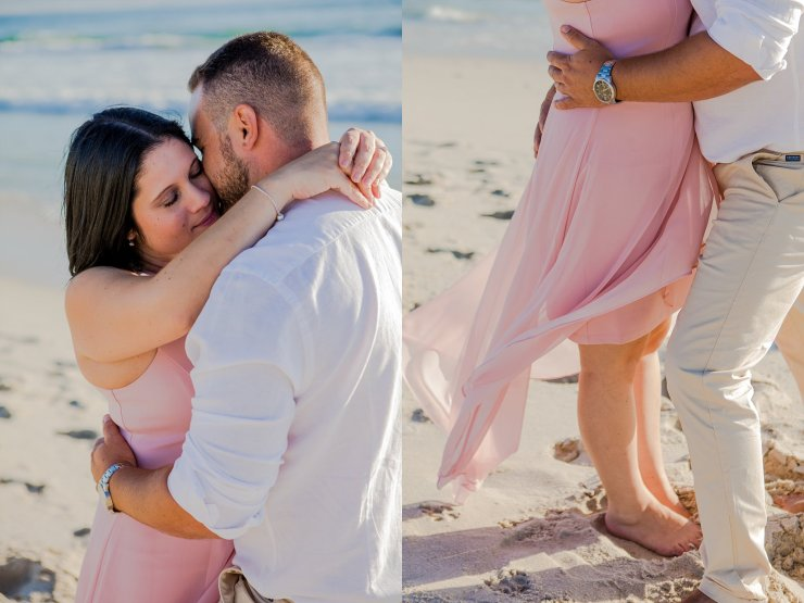 Dolphin Beach Engagement - (7)