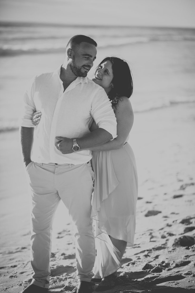 Dolphin Beach Engagement - (8)