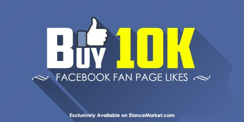 Buy 10,000 Facebook Fan Page Likes