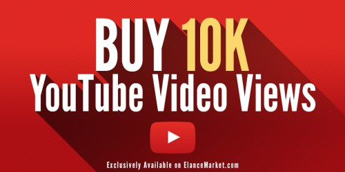 Buy 10,000 YouTube Video Views