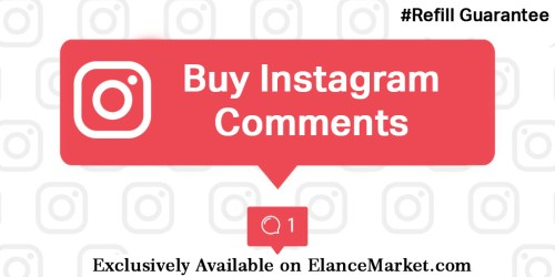 Buy Instagram Comments with Refill Guarantee