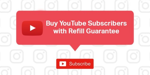 Buy YouTube Subscribers | Refill Guarantee
