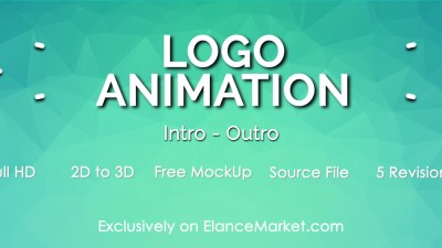 Create Professional Intro & Outro Video Animation of your Website / Brand Logo