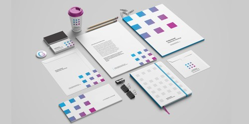 Design Unique High-Quality Print Ready Vector Stationary in High-Resolution for your Brand / Business