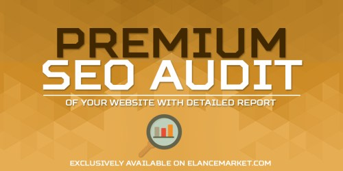 Premium SEO Audit of your Website with Detailed Report