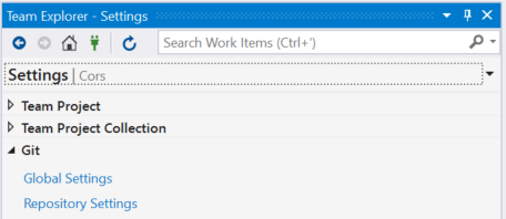 Add Git Ignore to existing Visual Studio Project – Eric L