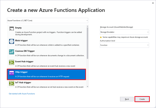 Create an Azure Function App from Visual Studio – Eric L