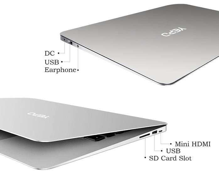 "Yepo 737S Laptop en análisis: Ultrabook de 13"" estilo MacBook con Windows 10 por 182 euros review analisis reseña precio oferta cupón descuento"