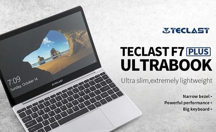"""Teclast F7 Plus. un portátil ultrafino de 14"""" con 8GB RAM y 128GB SSD"""