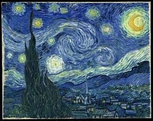 La noche estrellada, de Van Gogh