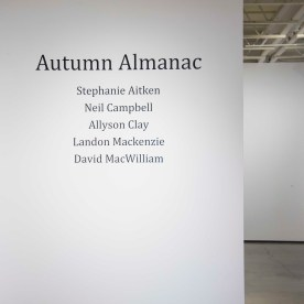 Autumn Almanac Installation View 20