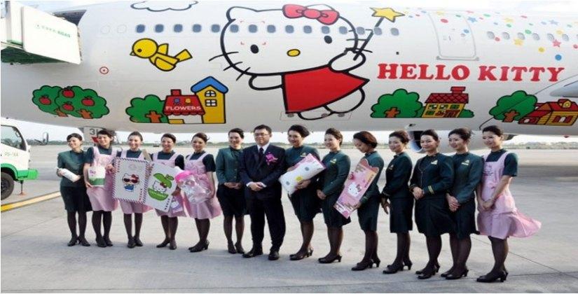 Eva Air-Hello Kitty (SumberGambar :pinterest.com)