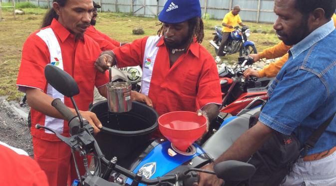 Harga BBM Premium di Papua
