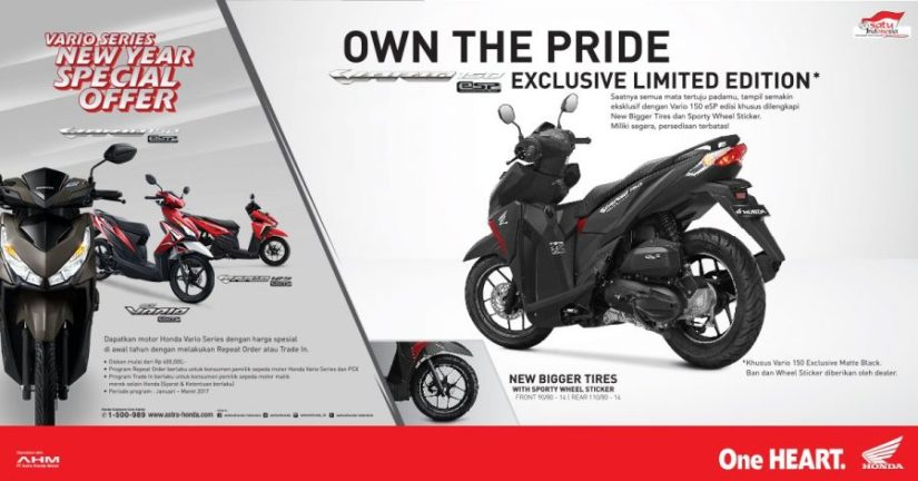 Vario 150 Exclusive Limited Edition