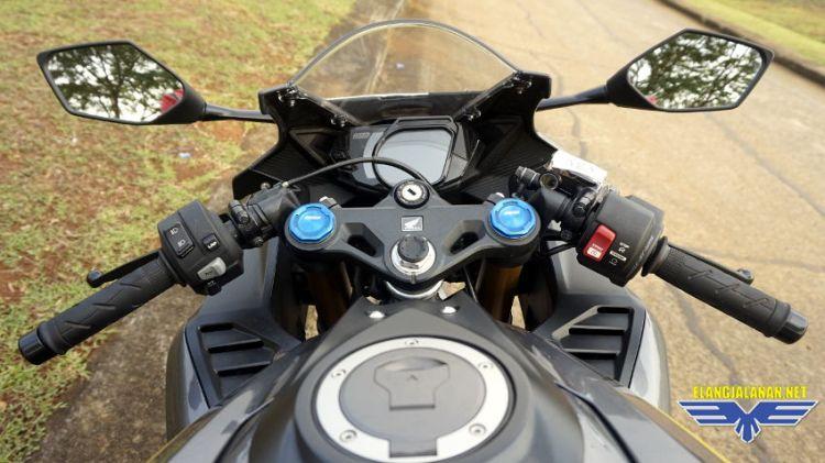 Deviasi simpangan speedometer Honda CBR250RR