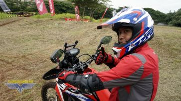 Riding Experience bersama Honda CRF250Rally