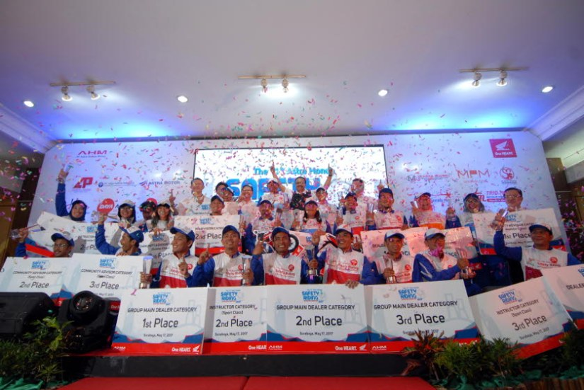 Pemenang Astra Honda Safety Riding Instructor Competition 2017
