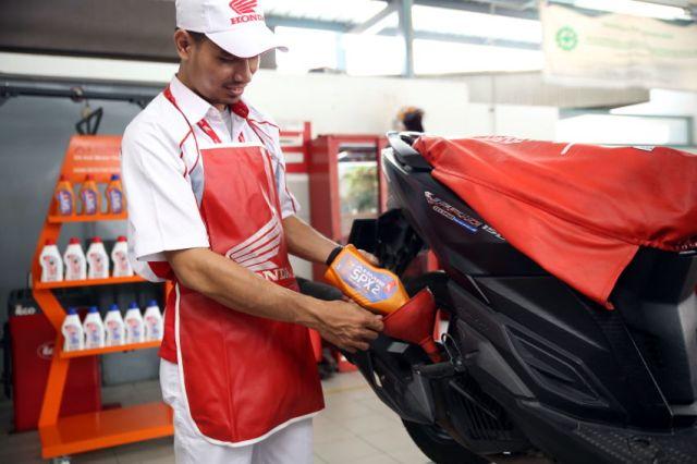 AHM Luncurkan Update Terbaru Pelumas AHM Oil