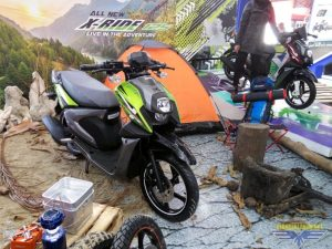 All New X-Ride 125 dirilis