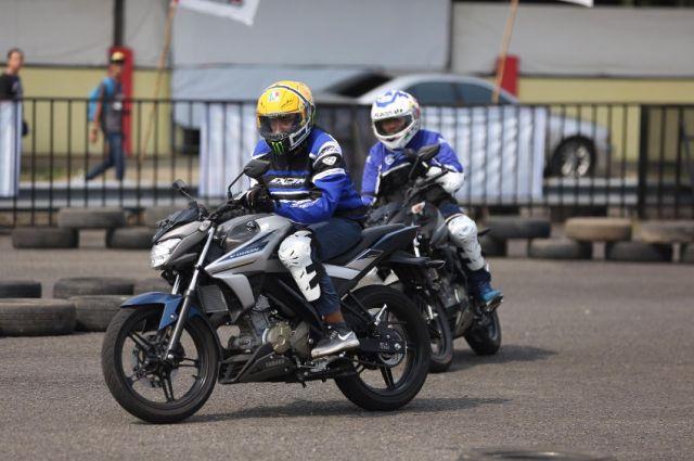 jajal All New Vixion di ajang Fun Riding Competition