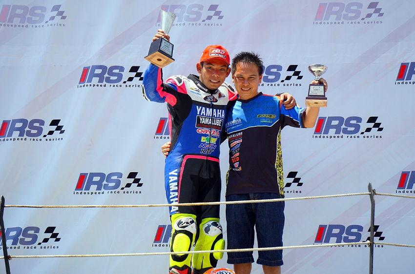 Hasil Race 1 IRS 2017 kelas 150cc Seri 3