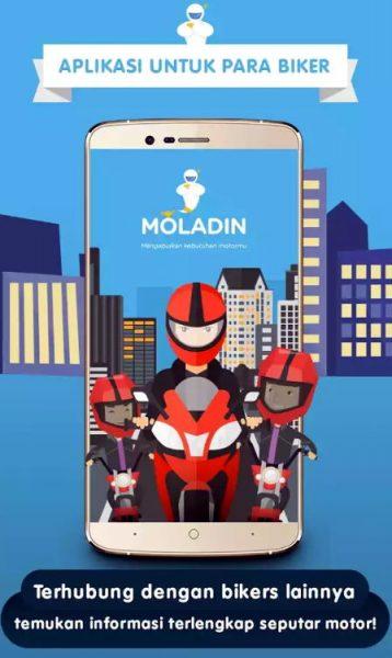 Update aplikasi Moladin versi terbaru