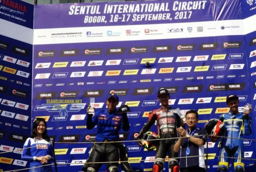 Hasil Lengkap Balap Yamaha Sunday Race 2017 Seri 3