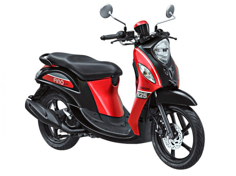 New Fino 125 Sporty Sprint Red