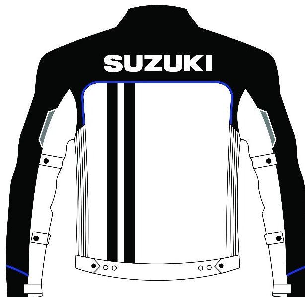 Desain Jaket Sporty GSX-R150 Belakang