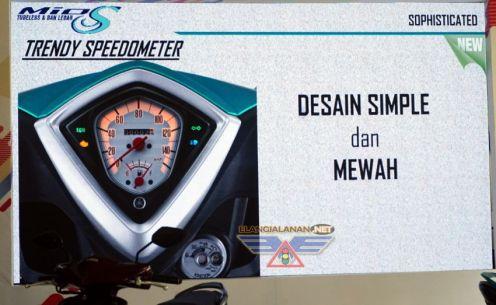 Speedometer Mio S Tubeless