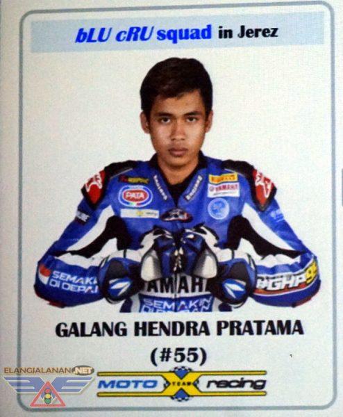 Time Frame Karir Balap Galang Hendra hingga menuju kesuksesan WSSP300 Jerez 2017