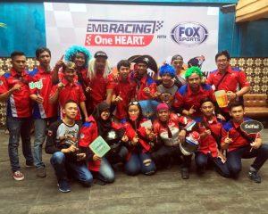 Komunitas CBR Jakarta dan Tangerang Dukung Dunia Balap Honda