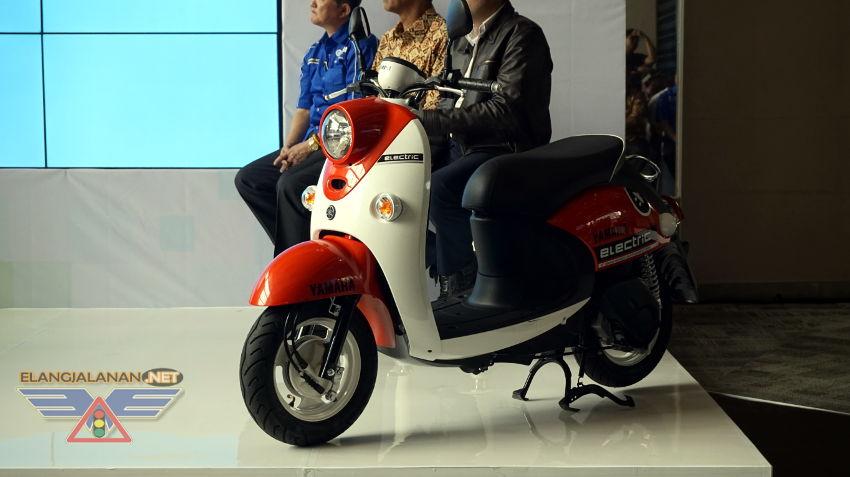 Yamaha Resmi Memperkenalkan Yamaha Electric Vehicle