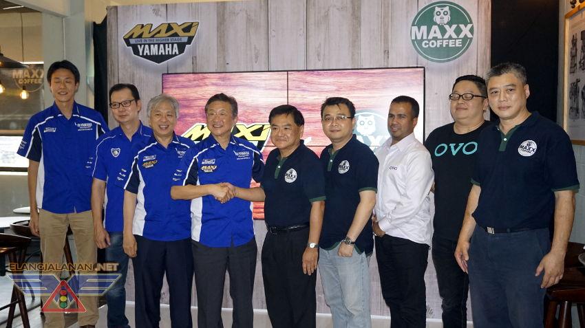Kini Yamaha Berkolaborasi dengan Maxx Coffee sebagai Tempat Hangout Spesial Maxi Yamaha Owner