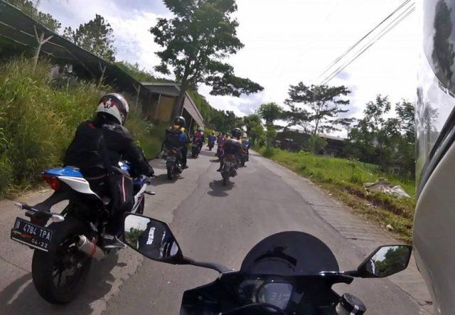 Mini Touring MX Strada di Suzuki Bike Meet Cibodas