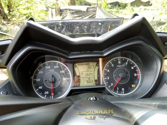 Cara Setting Display Speedometer Yamaha XMAX 250