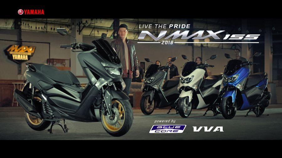 Iklan Terbaru TVC NMAX 155 Model 2018 Ekspresikan Tren Mendunia MAXI Yamaha