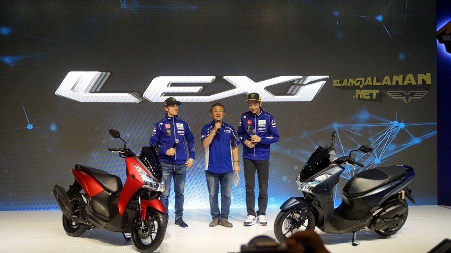 Valentino Rossi Launching Yamaha Lexi