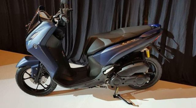 Yamaha Lexi 125VVA Terkuak di Internal Dealer