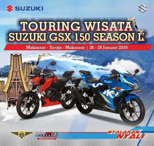 GSX 150 Sulawesi Touring ke Toraja