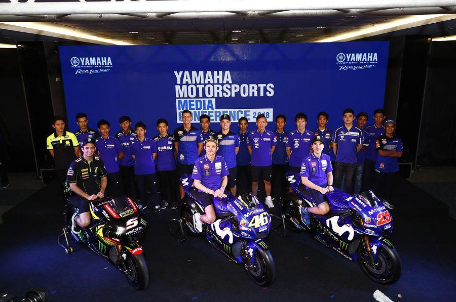 Rider Yamaha Racing Indonesia Resmi Diperkenalkan Bersama Pembalap Dunia