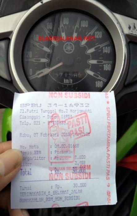 1 Liter Bensin Berapa Km Motor : liter, bensin, berapa, motor, Konsumsi, Setelah, Menemani, Tahun,, Konsisten, Iritnya, ElangJalanan.NET