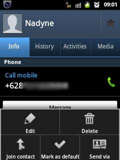 Mensinkronkan Whatsapp Contact