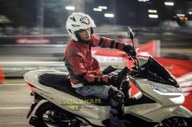 Review Test Ride Honda PCX 150 Lokal