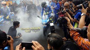 Parade 3.000 Bikers Suzuki Sirkuit Sentul