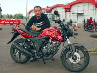 Test Ride Honda CB150 Verza 2018
