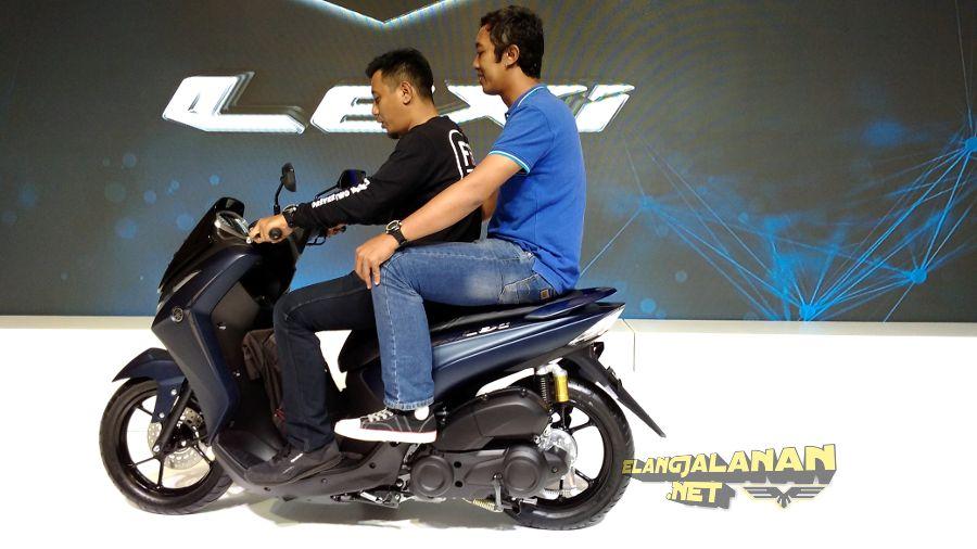 Gambaran Ukuran Body Yamaha Lexi