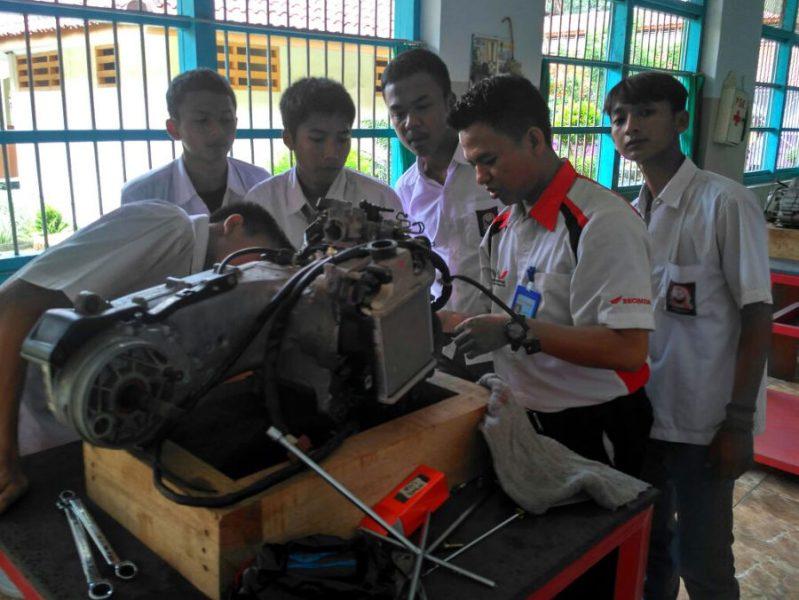Wahana Honda Berikan Kesempatan Kerja dari Mantan Lapas Anak
