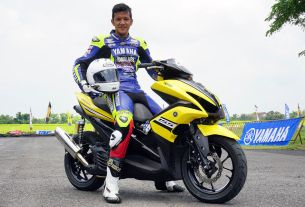 Buka Kelas Aerox 155 di Yamaha Cup Race 2018