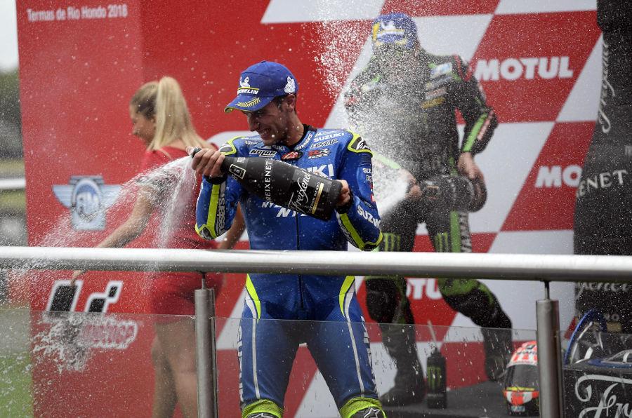 Alex Rins Cetak Podium MotoGP Perdana